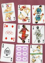 Collectible s playing cards Casa de Horus  sports,